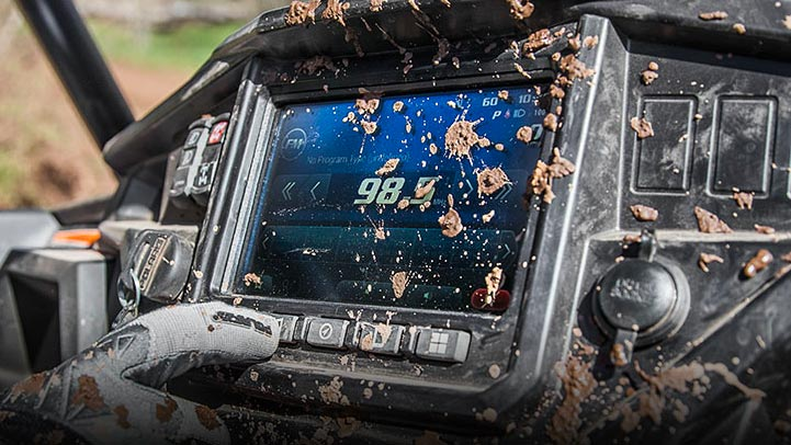 RZR XP® Turbo S - RIDE COMMAND®